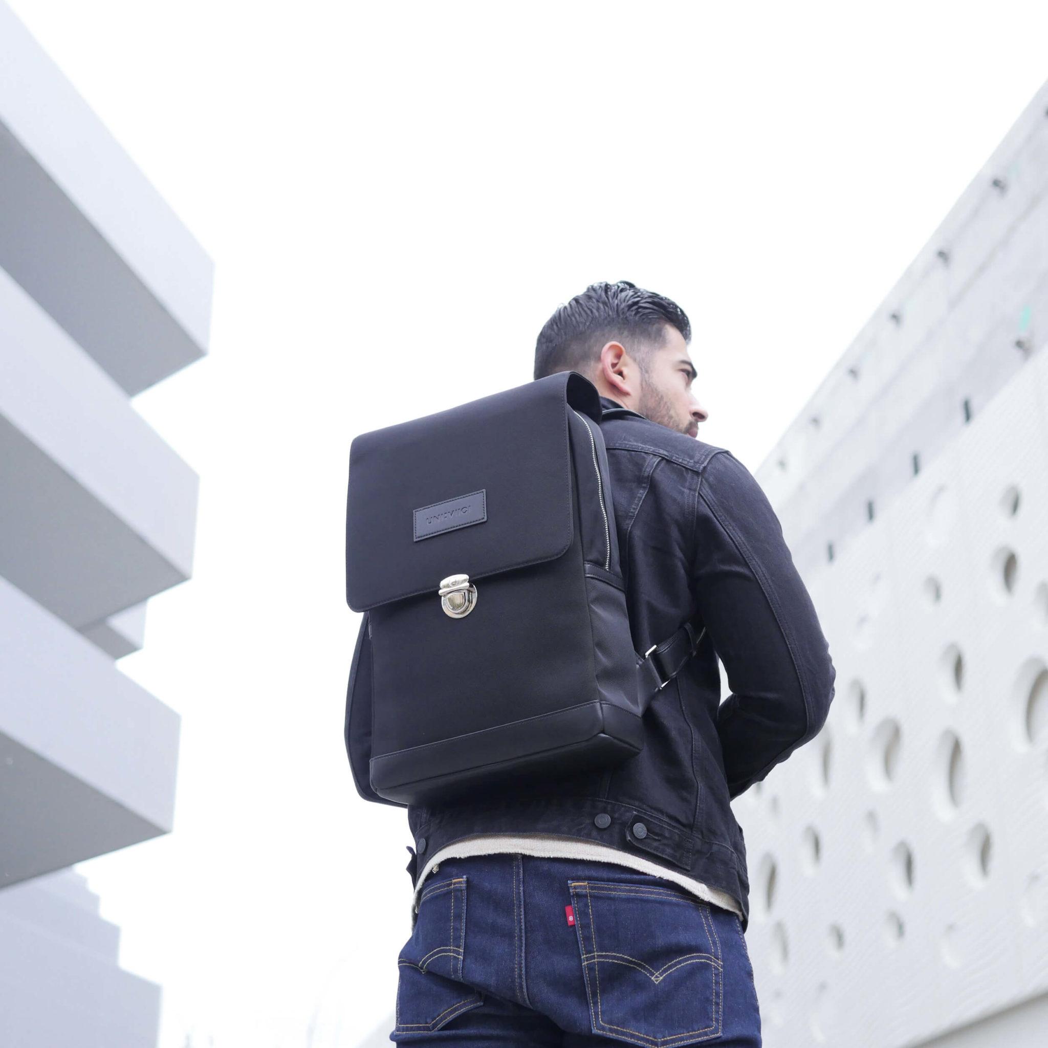 UNI:VIICI | sac à dos EQUILO black1 | EQUILO NOIR