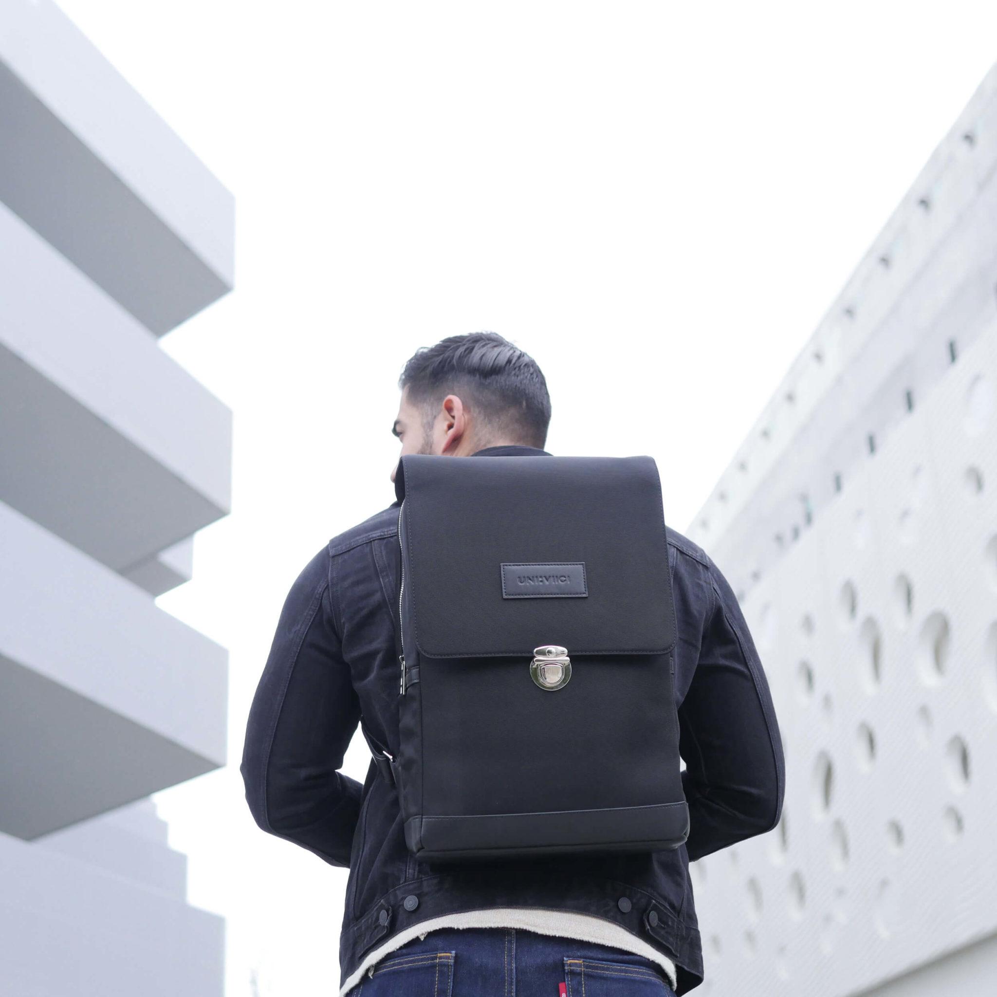 UNI:VIICI | sac à dos EQUILO black2 | EQUILO NOIR