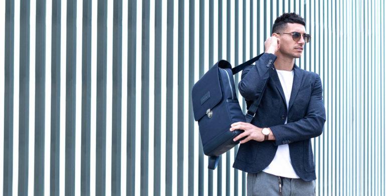 UNI:VIICI | EQUILO NAVY Bordeaux slide | Un sac à dos peut-il être utilisé en sac valise?